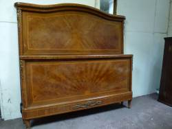 French Walnut Kingsize Bedstead At Staveley Antiques