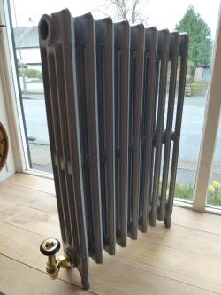 Antique radiator at Staveley Antiques
